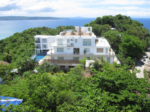 Huge White Mansion in Boracay