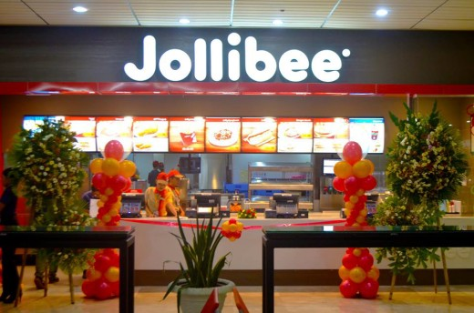 Jollibee Store at Mactan Airport