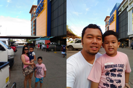 Maranga Family at NCCC Mall Palawan