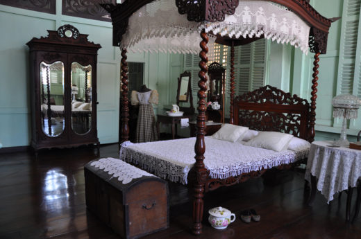 Bedroom at Bernardino Jalandoni Museum