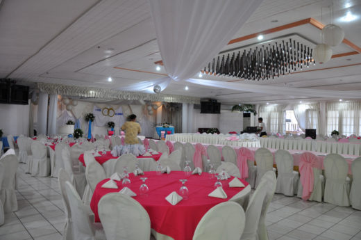 An upcoming wedding reception at Harbor Hotel